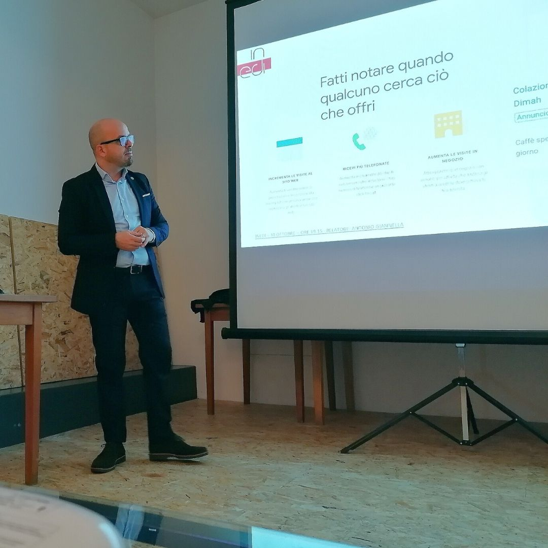 antonio giannella digital marketing manager - consulente seo in edi workshop 2019