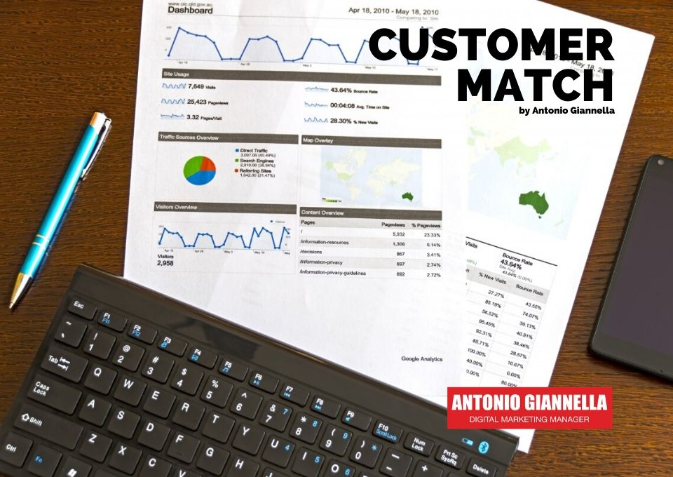 remarketing customer match google giannella