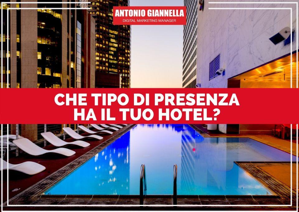 presenza hotel online