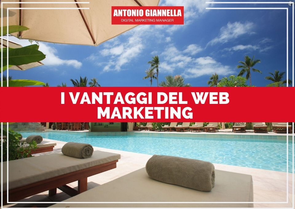 vantaggi del web marketing per hotel