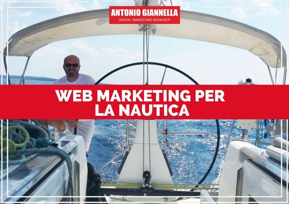web marketing per la nautica