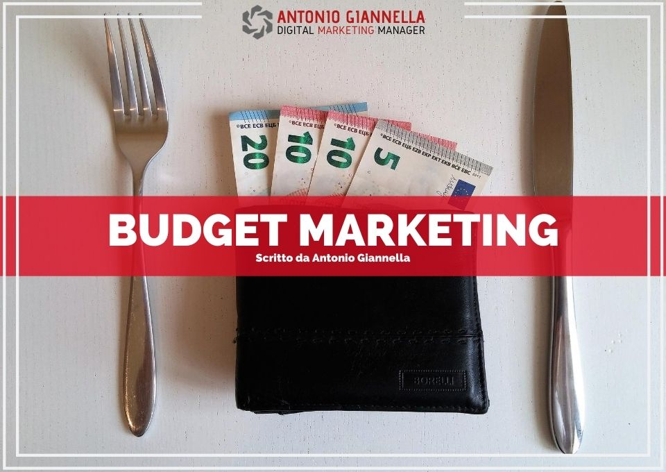 budget marketing modello concreto per il tuo piano