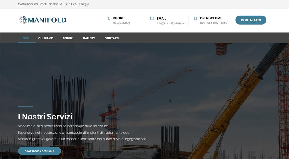 creazione sito inndustriale