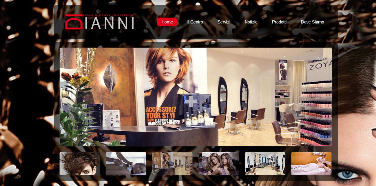 creazione sito web parrucchieri