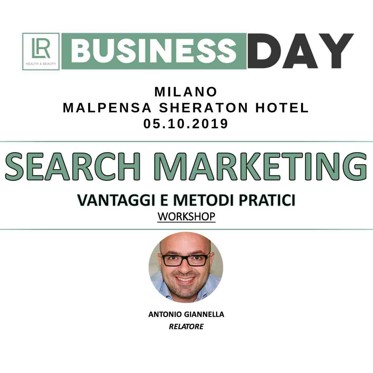 lr business day 2019 milano