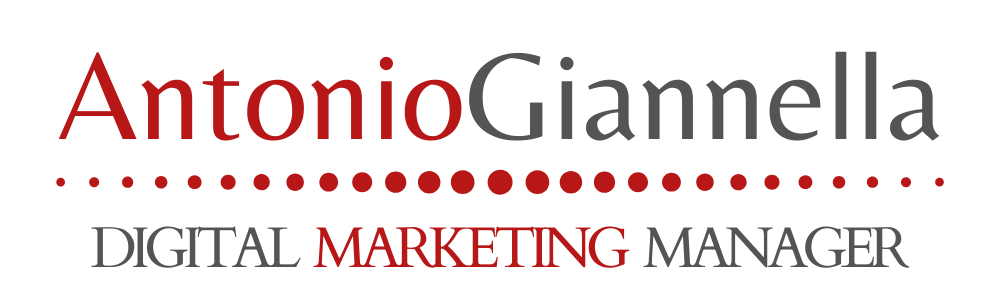 Antonio Giannella Digital Marketing Manager