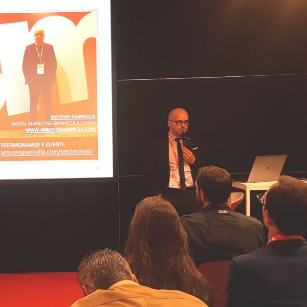 antonio giannella digital marketing manager - consulente seo smau 2019